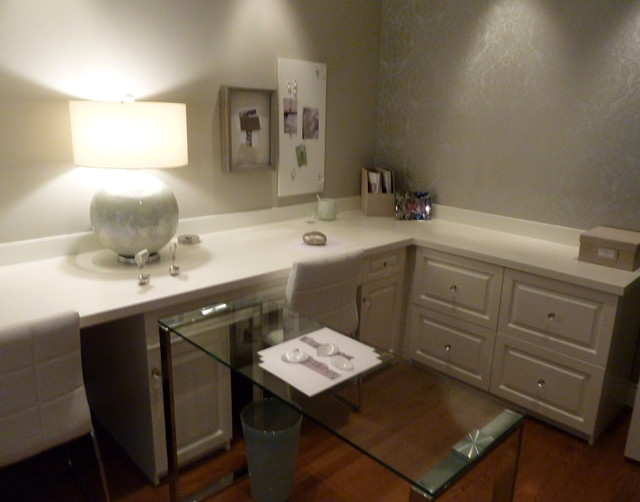Debbie Etheridge contemporary-home-office