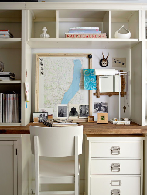 Decorate by Holly Becker and Joanna Copestick eclectic home office