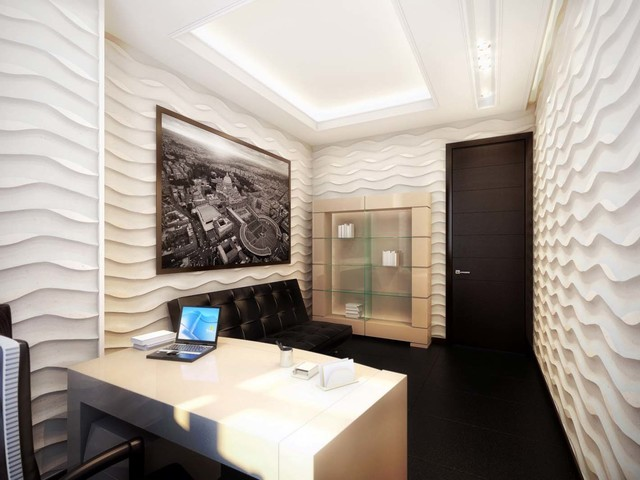 office wall panel. Decorative Wall Panels Contemporary-home-office Office Panel N