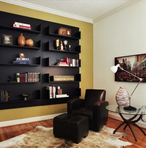 Den - Reading Nook modern home office