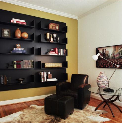 Den - Reading Nook modern-home-office