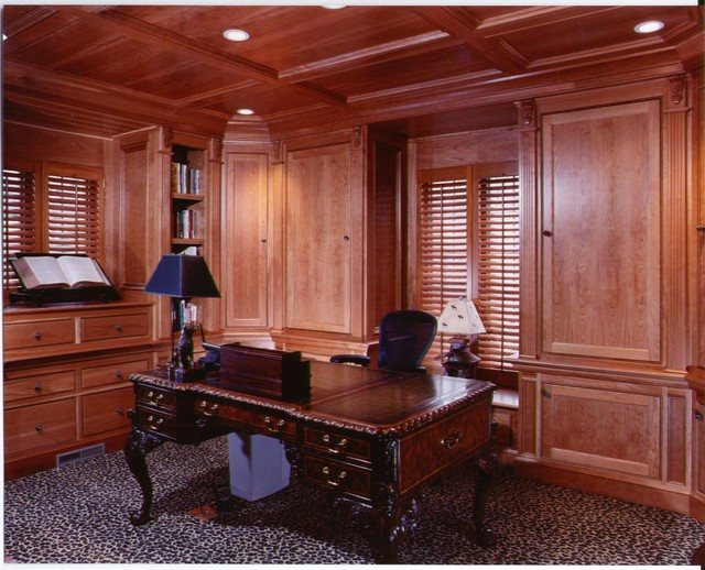 Dens Offices Traditional Home Office Library Cincinnati