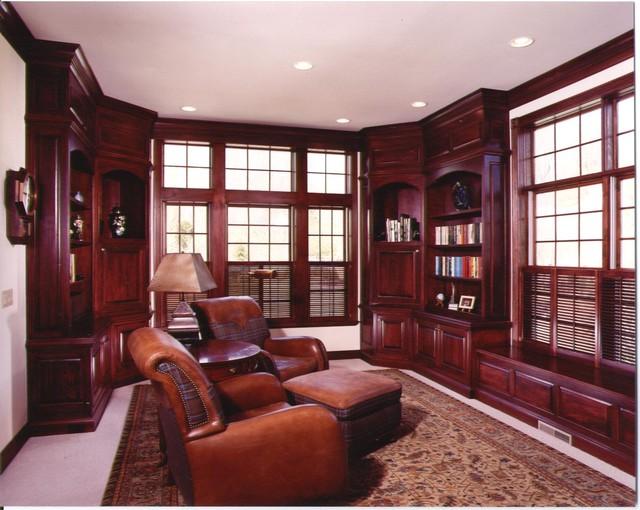 Dens amp Offices Traditional Home Office Cincinnati