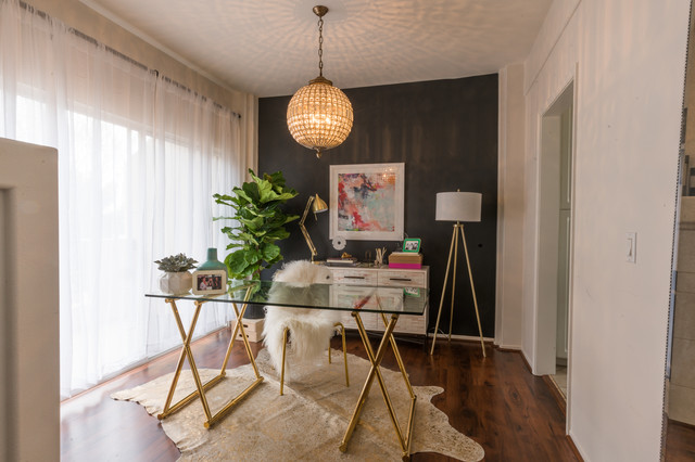 desi perkins by redesign interiors for laurel and wolf contemporary home office - Desi Home Pic