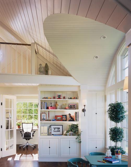 Designer Cottage Farmhouse Home Office Burlington By Truexcullins Architecture