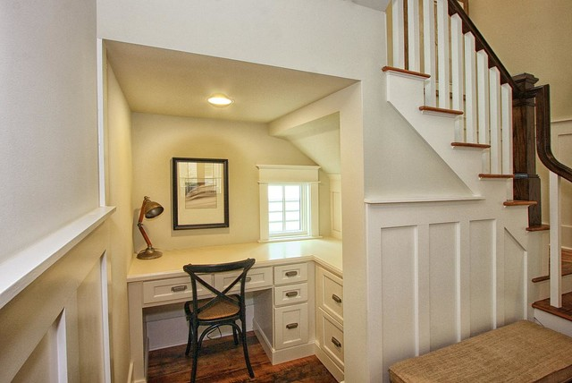 Desk Alcove Home Office Atlanta By Center Point Cabinets