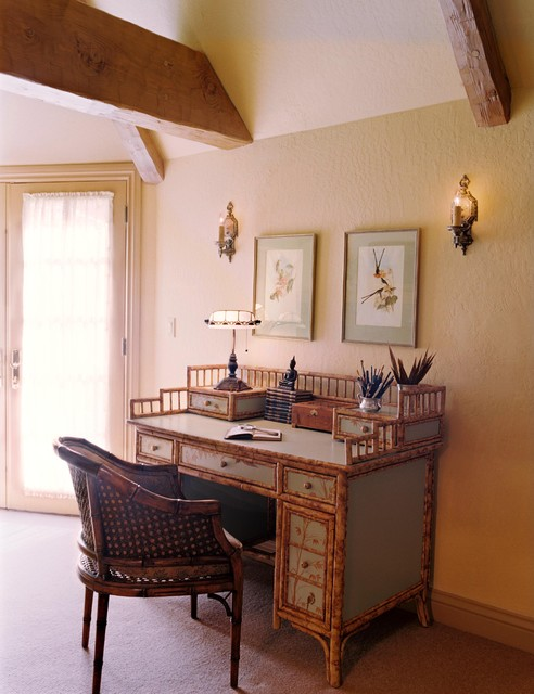 Desk In Master Bedroom Traditional Home Office San