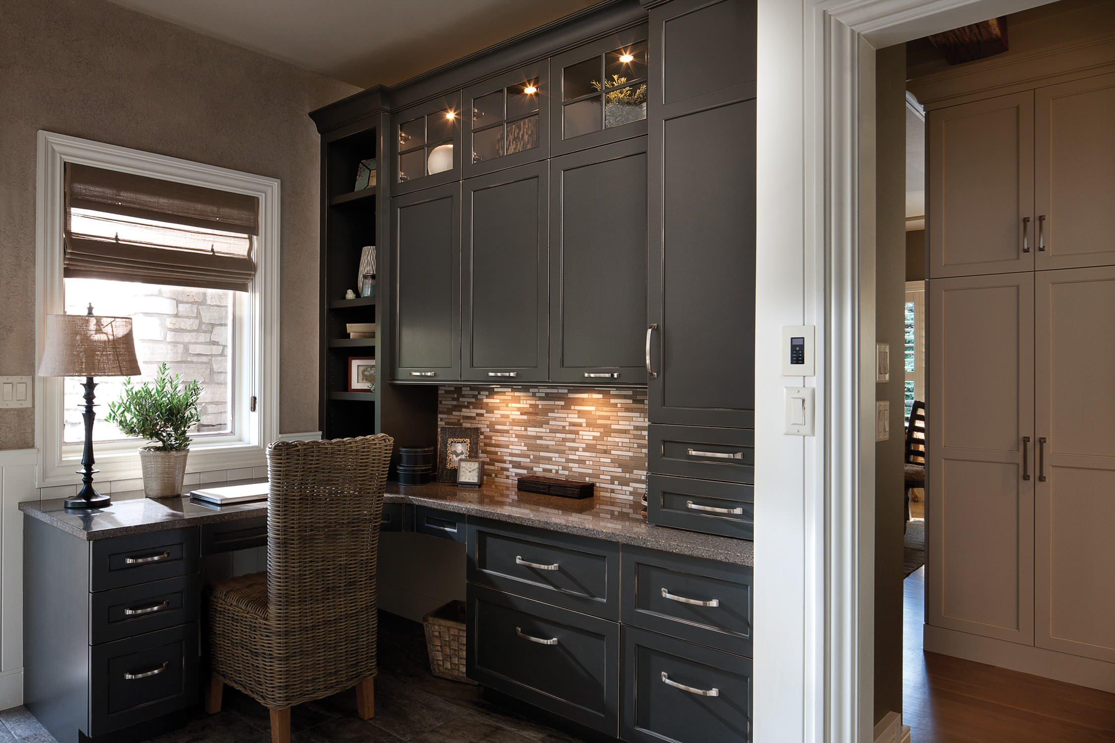 Small Corner Kitchen Desk Ideas Photos Houzz
