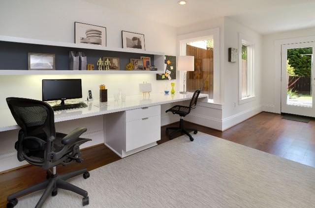 Douglass Residence contemporary-home-office