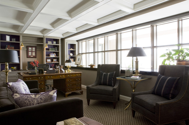 Downtown office traditional home office dc metro for Houzz corporate office