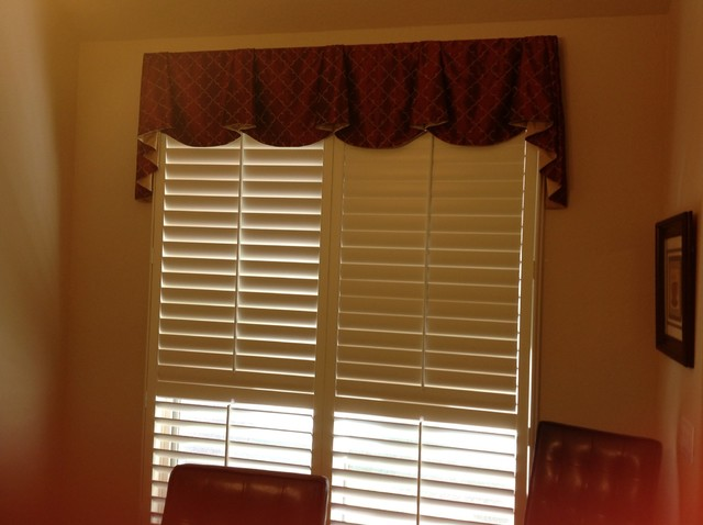 Drapery Transitional Home Office Other By Blinded