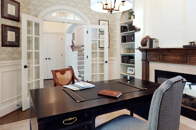 office in house. Dream House Studios, Inc. Transitional-home-office Office In U