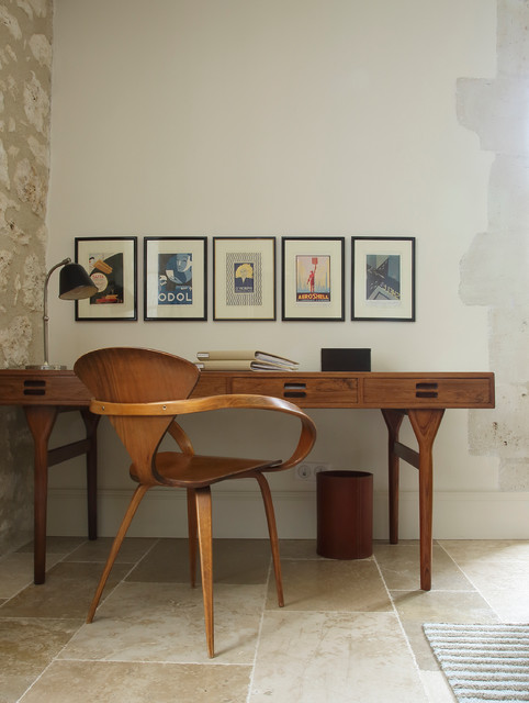 Dreaming in Southern France - Midcentury - Home Office - New York ...
