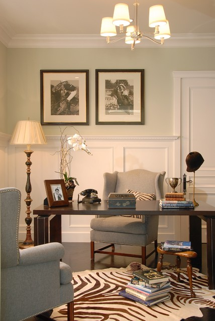 DTM Interiors  Los Angeles traditional-home-office