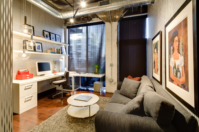 Dwelling Designs Warehouse District Loft - Industrial - Home Office