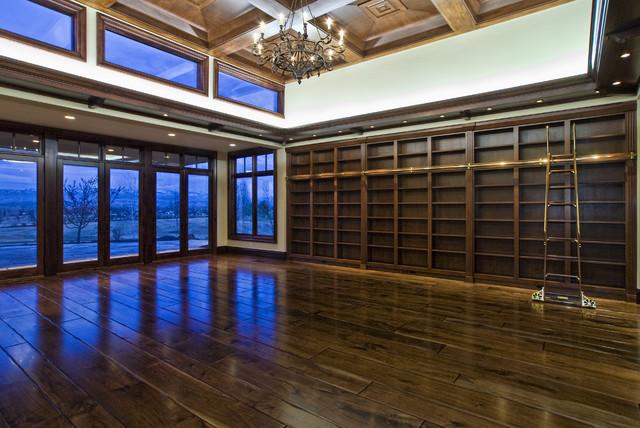 Eagle, Idaho Custom Home eclectic-home-office