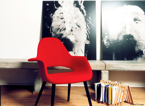 Eames & Saarinen Organic Chair