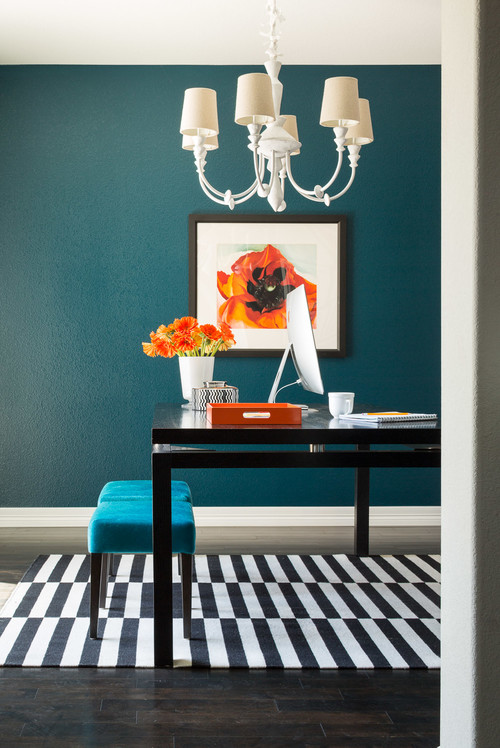 Home Office Bold Color