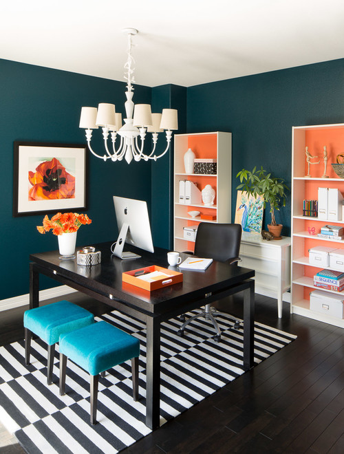 transitional home office how to tips advice