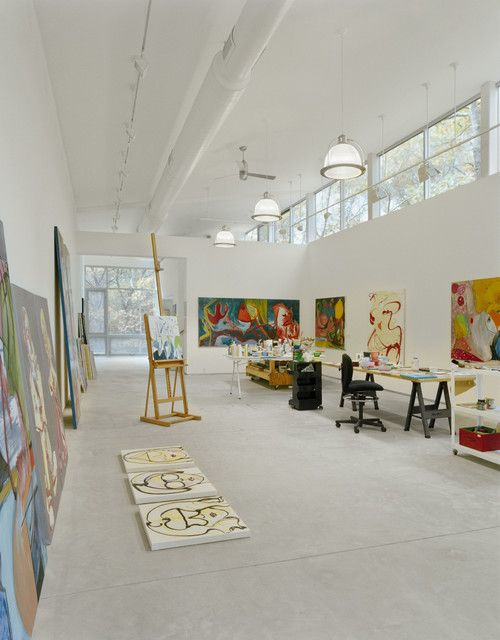 East H&ton Artist Studio modern-home-office & East Hampton Artist Studio - Modern - Home Office - New York - by ... azcodes.com