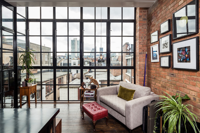 East London Warehouse Extension - Contemporary - Home Office ...