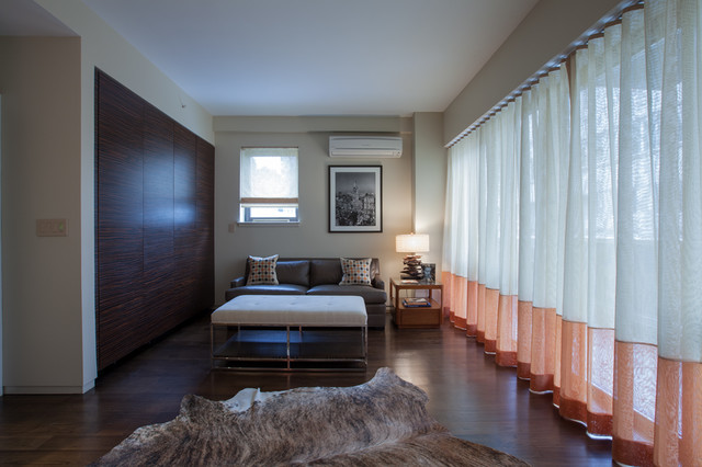 East Midtown Duplex Penthouse contemporary-home-office