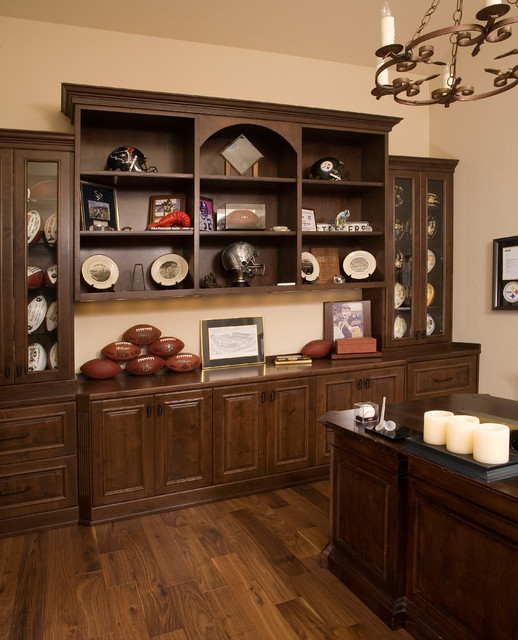 East side custom home traditional-home-office