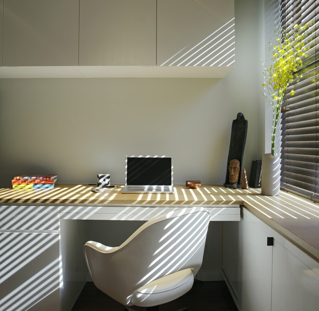 East Village Studio modern-home-office