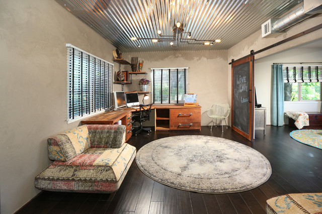 Echo Park Full Home Renovation And Addition Artist Style Office Los Angeles