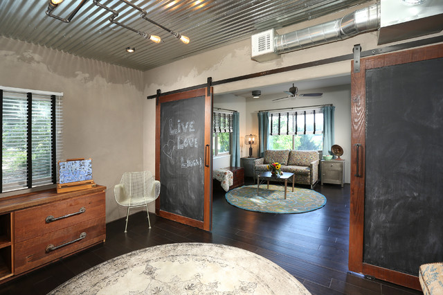 Echo Park Full Home Renovation And Addition Industrial