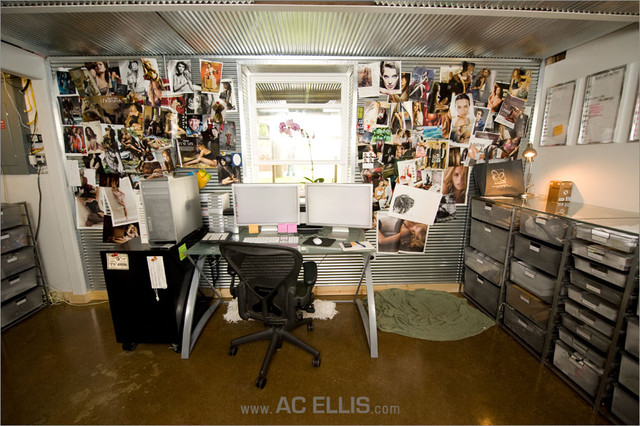eclectic home office Inspiration Wall