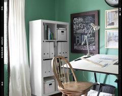 Eclectic Home Office eclectic-home-office