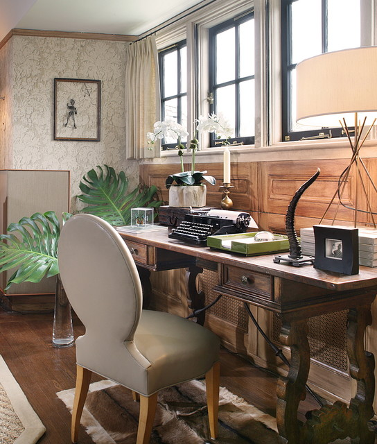Office Eclectic Room: Home Office