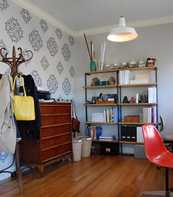 Modern Office eclectic-home-office