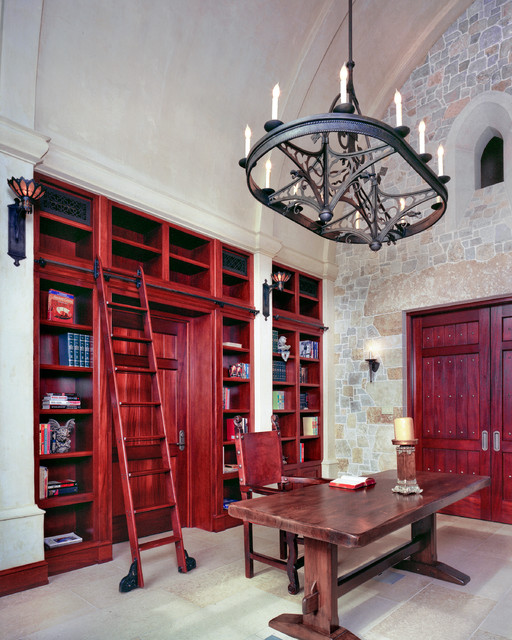 Castle eclectic home office