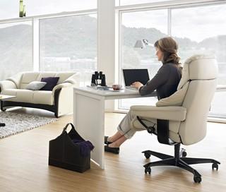 Ekornes Stressless Living Room Modern Home Office Oklahoma City By Da