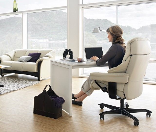 Ekornes stressless living room modern home office oklahoma city by dane design Home outlet furniture in okc
