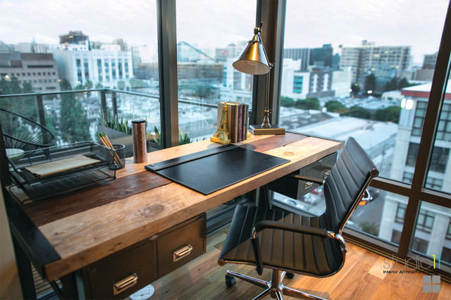 Elleven Loft Downtown Los Angeles CA Modern Home Office And