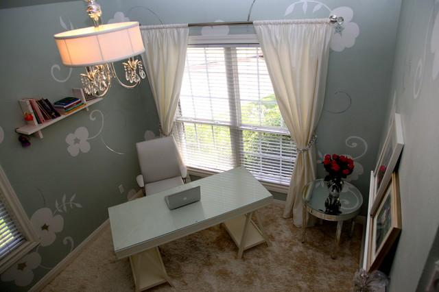 Elliott Interiors eclectic-home-office