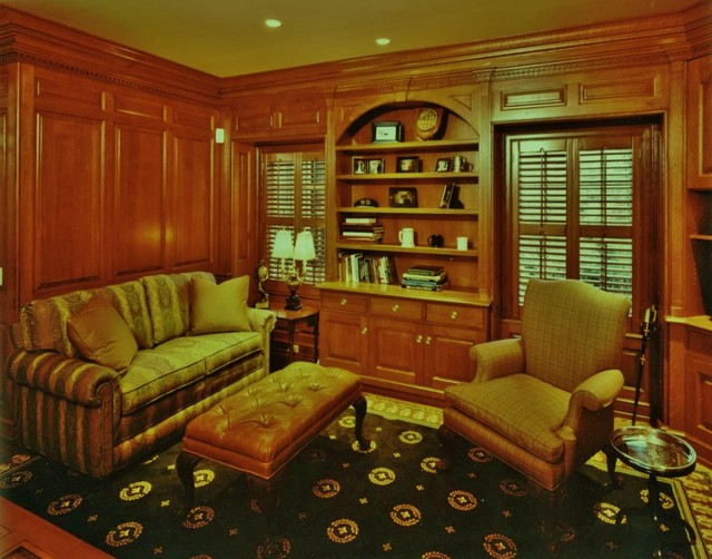 Ely Farm I traditional-home-office