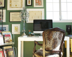 Emerald Office eclectic-home-office
