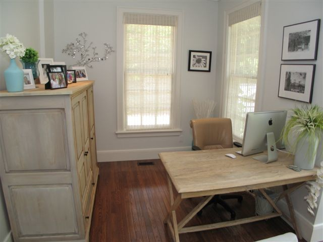 Enchanted City Cottage transitional-home-office