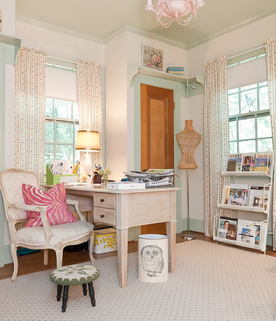 Enchanted Storybook Shabby Chic Style Home Office