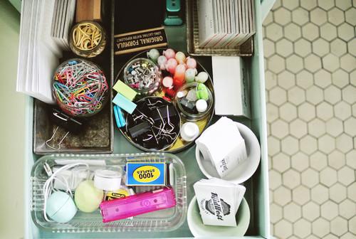 【Houzz】ホームオフィスを使いやすく整理する9の秘訣 2番目の画像
