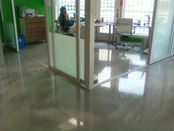 Epoxy Floors Newcastle Polyurethane Flooring Polished Concrete Contemporary Home Office