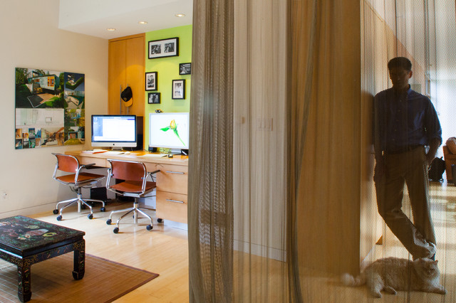 Eric Fisher Residence contemporary-home-office