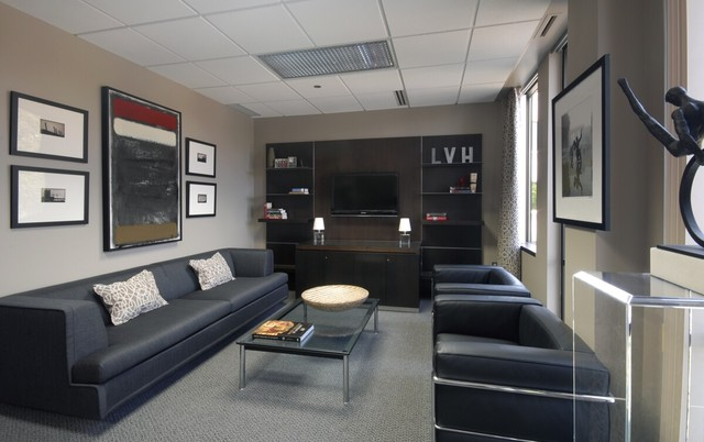 Executive Office Home Office By Dunlap Design Group Llc