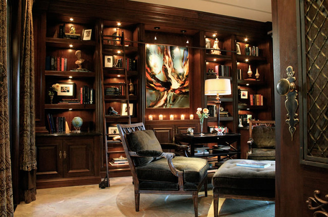 Amazing Family Den, Library Home Office