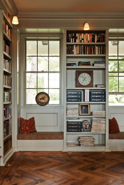 Greek Revival Farmhouse Home Office Burlington By