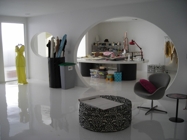 Fashion Commercials eclectic home office